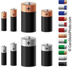 Set of battery