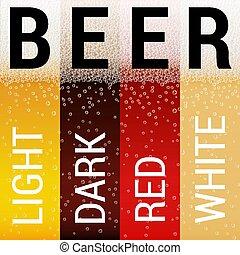 Set of Beer Patterns