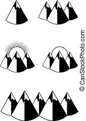 black mountains icon