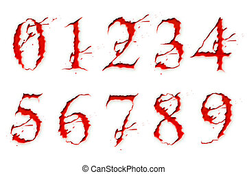 Set of Blood Liquid numbers isolate