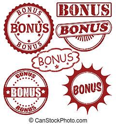 Set of bonus stamps