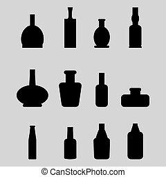Set of bottle
