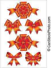 set of bows