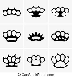 Set of Brass knuckles