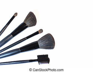 Set of brushes for make-up