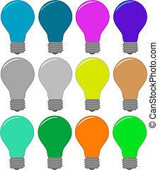 set of bulbs
