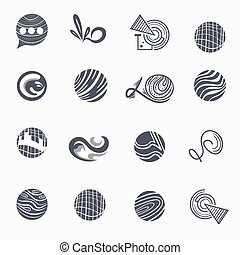 Set of Business logos, Labels and Design Elements