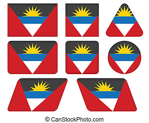 flag of Antigua and Barbuda