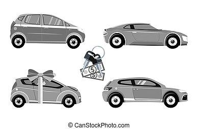 Set of Car Sale