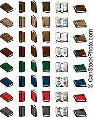 Set of Cartoon Books