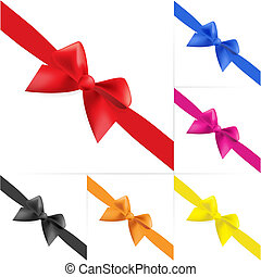 Set of celebratory bows #4