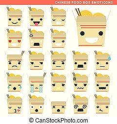 chinese food box emoticons