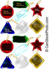 Set of Christmas Gift / Sale Tags