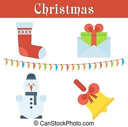 set of christmas image