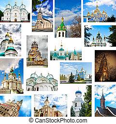 set of churches