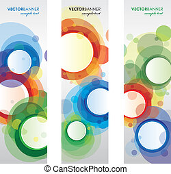 circle bookmarks - set of circle bookmarks