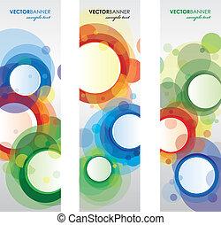 set of circle bookmarks