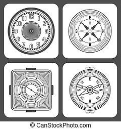 Classic design mechanical wristwatch