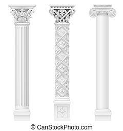 Set of classical columns