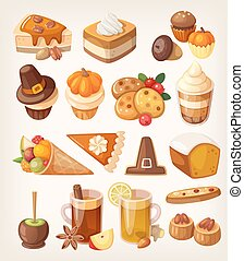 Thanksgiving day desserts