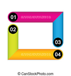 set of colorful vector sample banners for your website