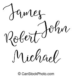 Michael name Illustrations and Stock Art. 28 Michael name ...
