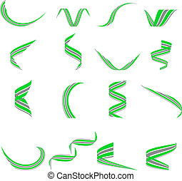 set of Company Logos. - Set of environmental logos. Vector...