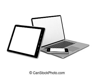 Set of Computer Equipment.