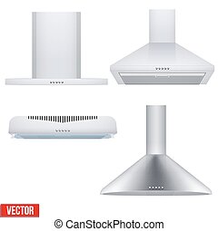 Set of cooker hoods
