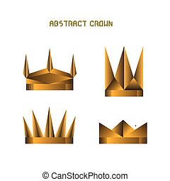 Set of crowns