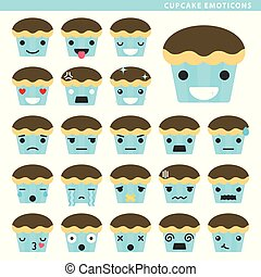 cupcake emoticons