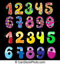 Set of cute numbers