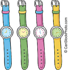 Set of cute watch