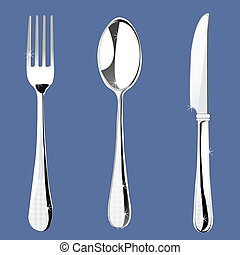 set of cutlery