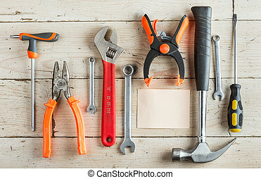 set of dcarpentry tools