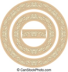decorative circle frames