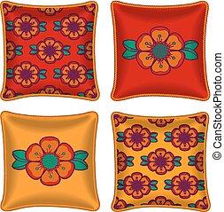 Set of decorative pillow