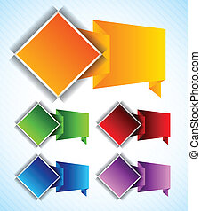 Set of design element