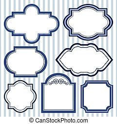 Set of design frames
