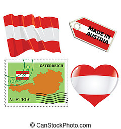 national colours of Austria