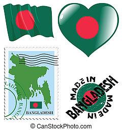 national colours of Bangladesh