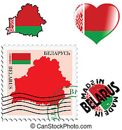 national colours of Belarus