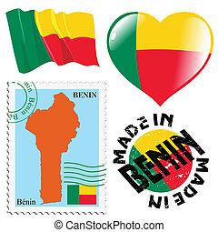 national colours of Benin