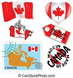 national colours of Canada