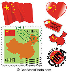 national colours of China