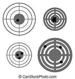 Set of Different Using Targets