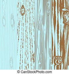 Set of different wooden boards with knots. Old painting. Wooden background. Wood texture. illustration