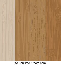 Set of different wooden boards with knots. Wooden background. Wood texture. illustration