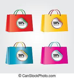 Set of discount vector