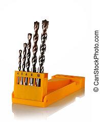set of drill bits